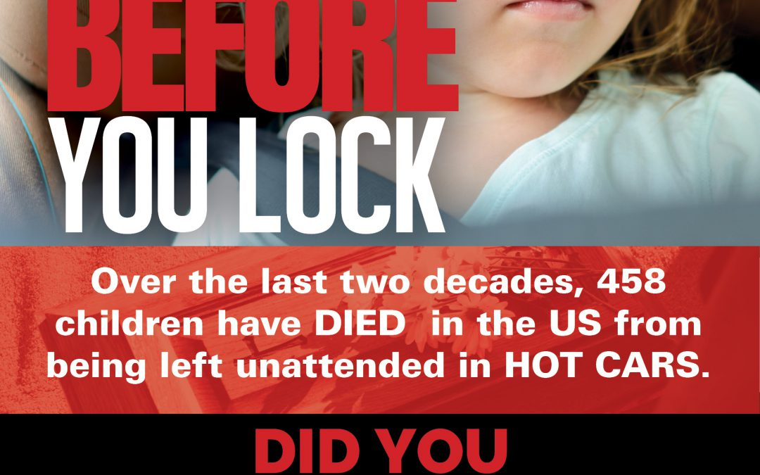 LA AAP Teams Up With Children's Trust Fund on Look Before you Lock Campaign